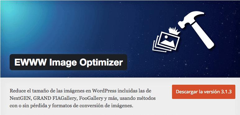 EWWW Image Optimizer, herramienta para comprimir fotos