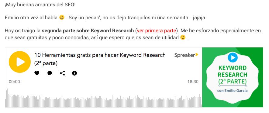 qué es podcast