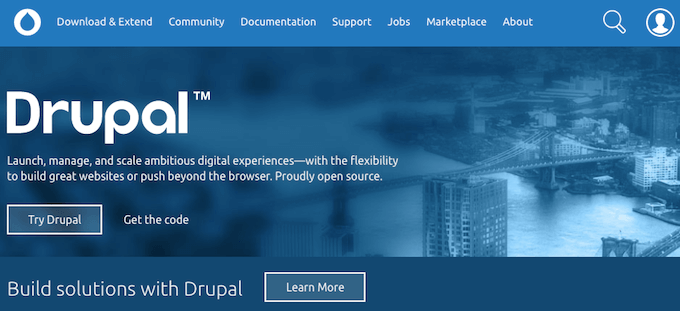 que es CMS Drupal
