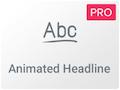 Icono de Widget de Encabezados Animados de Elementor Pro