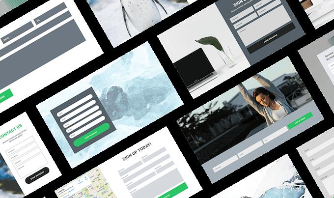Diseño con imagen de Formularios con Elementor Pro