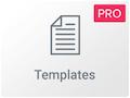 Widget para insertar templates en Elementor Pro
