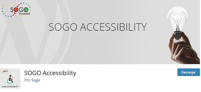 sogo accesibility para crear una web accesible