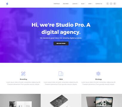 diseñar web corporativa con studio pro de genesis framework