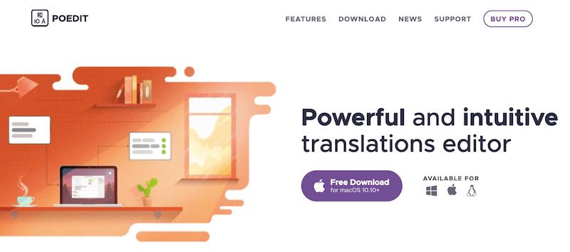 Idiomas WordPress: traducir cadenas de texto con poedit