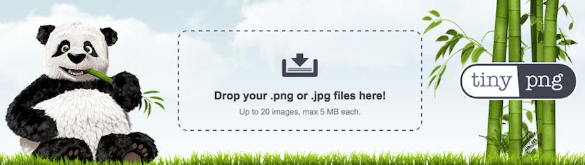 TinyPNG, programa para comprimir fotos