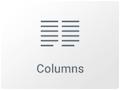 Icono de Widget de columna en elementor