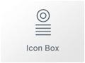 Icono de Widget de Caja de Icono en Elementor WordPress