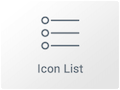 Icono de Widget de Icono de Lista en Elementor Page Builder