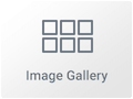Icono del Widget de Galería de Imágenes en Elementor Page Builder WordPress