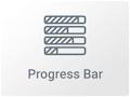 Icono del Widget de Barra de Progreso en Elementor Page Builder