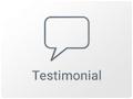 Widget de Testimonials en Elementor WordPress