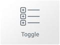 Imagen Widget Toogle en Elementor